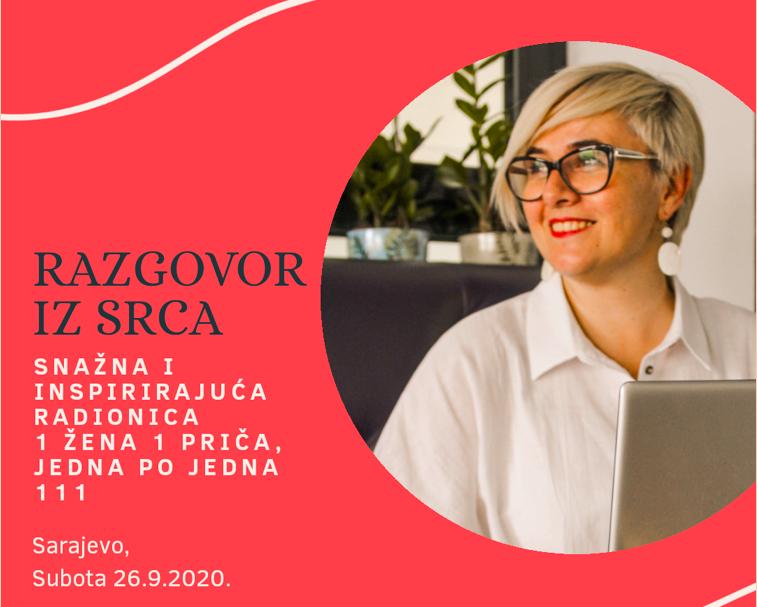 Najava: ŽENA387 - RAZGOVOR IZ SRCA - Poduzetnice